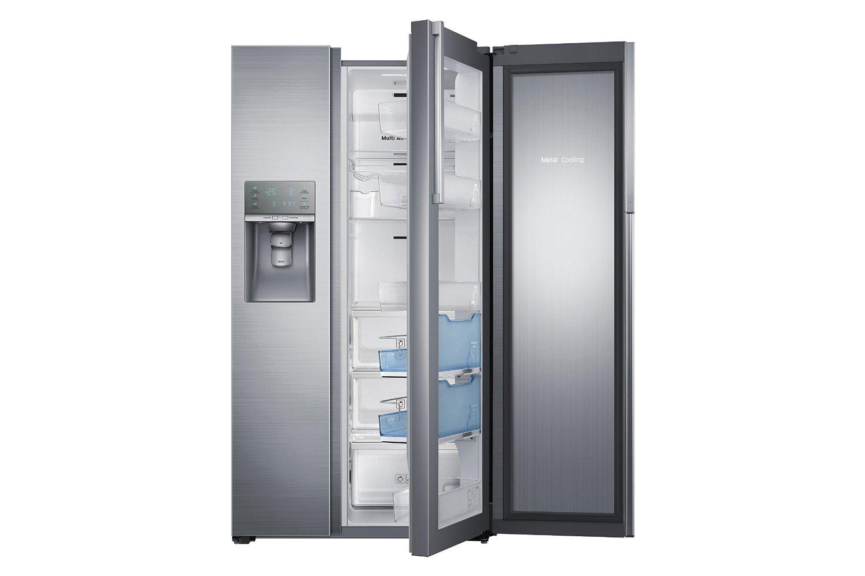 Eine Kühl Gefrierkombination mit Eiswürfelspender Test    HIER