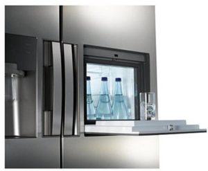 Smeg Kühlschrank Innenansicht : Side by side kühlschrank mit wassertank test zusammenfassung